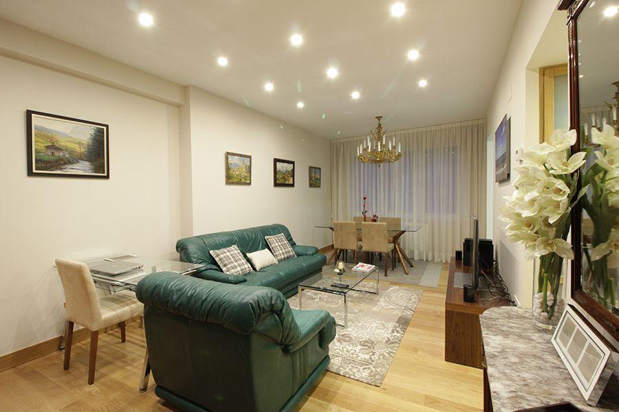 reforma integral interiorismo decoracion vivienda Bilbao Santutxu plantas 1
