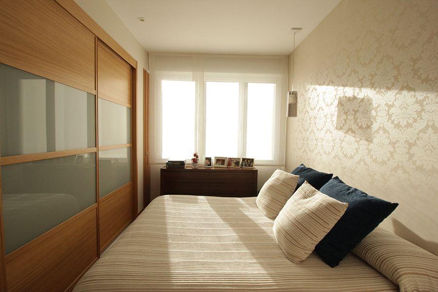 reforma integral interiorismo decoracion vivienda Bilbao Santutxu plantas 16