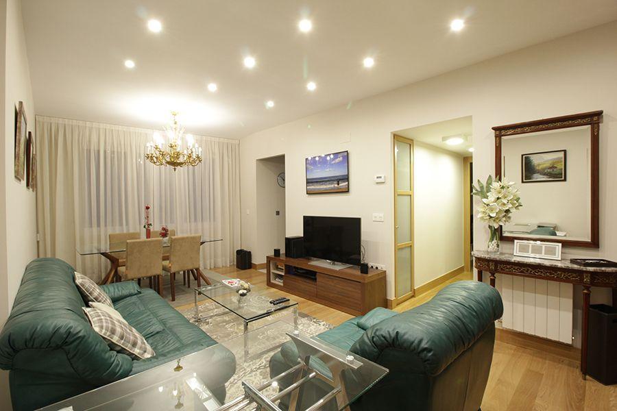 reforma integral interiorismo decoracion vivienda Bilbao Santutxu plantas 2