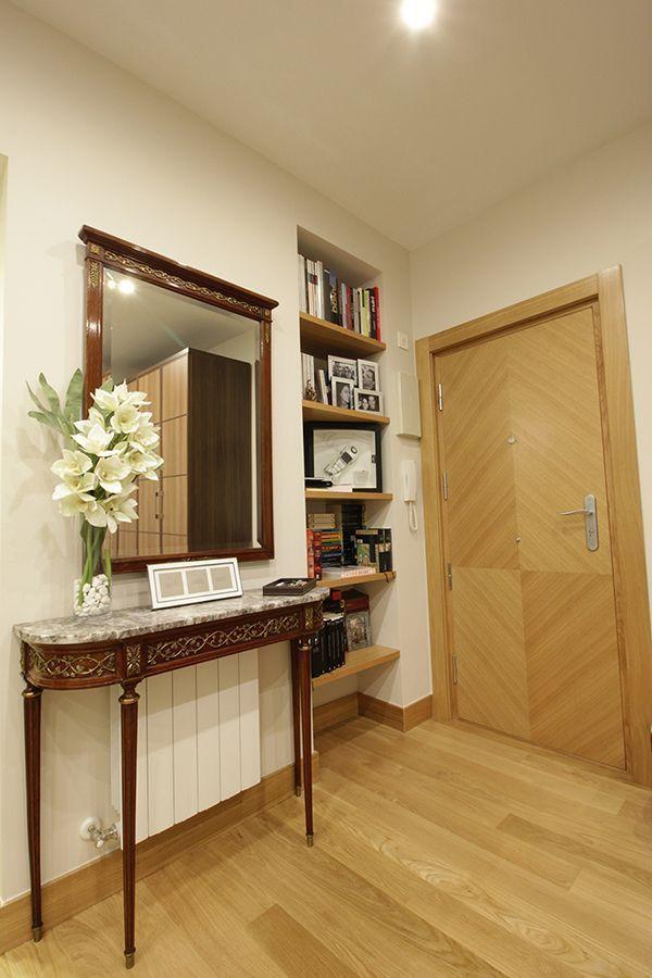 reforma integral interiorismo decoracion vivienda Bilbao Santutxu plantas 5